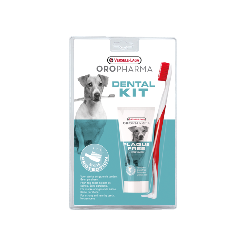 Oropharma Komplet za Zubnu Higijenu Plaque Free 70ml